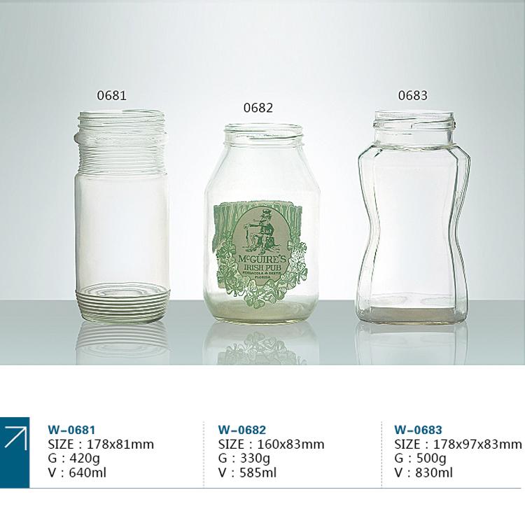 蜂蜜采用玻璃瓶儲藏容器可以嗎?